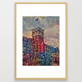 Ponce Dream Spirals Framed Art Print