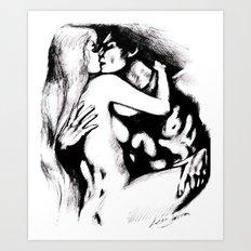 RELATIONSHIP Art Print