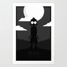 Moon Picker Art Print