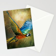 A Flash of Macaw Stationery Cards