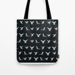 Black & White Silhouette Tote Bag