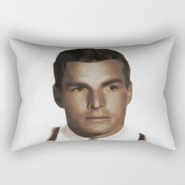 Hollywood Legends, Buster Crabbe, Actor Rectangular Pillow