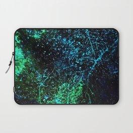 Intergalactic Leaves Laptop Sleeve