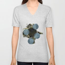 Simple and Confusion Unisex V-Neck