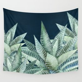 Succulent Garden (Snake Plant) Wall Tapestry