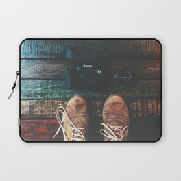 SHOES - CANON - CAMERA - PHOTOGRAPHY Laptop Sleeve