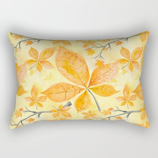 Autumn leaves #11 Rectangular Pillow