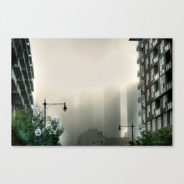 Foggy Presidential Towers Canvas Print