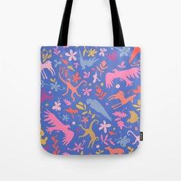 Frid Menagerie in Azul Tote Bag