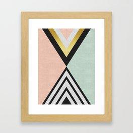 Golden Art VII Framed Art Print