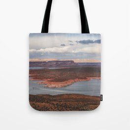 Cutting Through Lake Powell Tote Bag