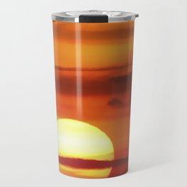 Sunset at Devil's Dyke (UK) Travel Mug
