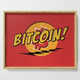 Bitcoin red Tataaa Serving Tray