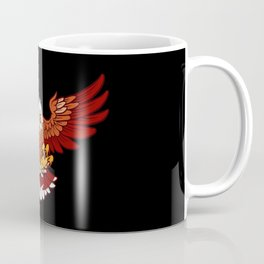 Open Winged Eagle | Wildlife Fly Bird Feather Coffee Mug