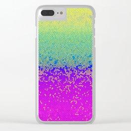 Glitter Star Dust G289 Clear iPhone Case