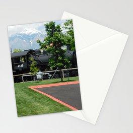 Dark Train Stationery Cards