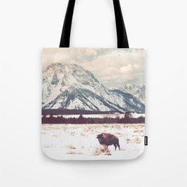 Bison & Tetons Tote Bag