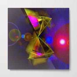 Blackhole Prism Metal Print