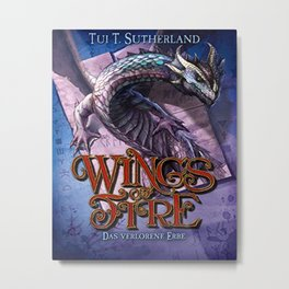 Wings of Fire 2 - Das verlorene Erbe Metal Print
