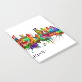 Brooklyn New York Skyline Notebook