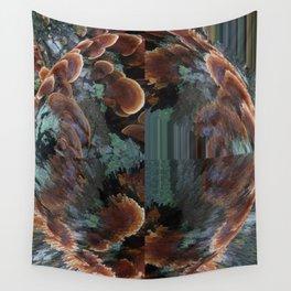 Quadrant Polypores Wall Tapestry