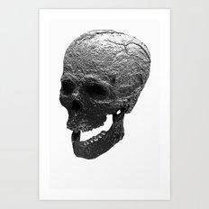 IRON SKULL Art Print