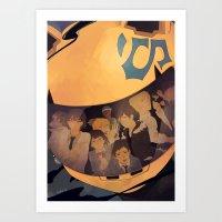 durarara Art Prints featuring Durarara!! by hara