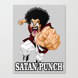 Mr. Satan Canvas Print