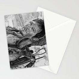 Dayrl Dixon (Walking Dead) Portrait. Stationery Cards