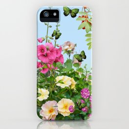 Wild Garden iPhone Case