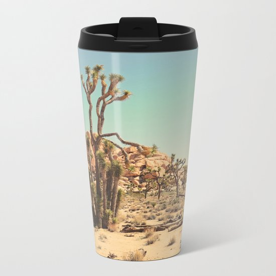 Joshua Tree Metal Travel Mug