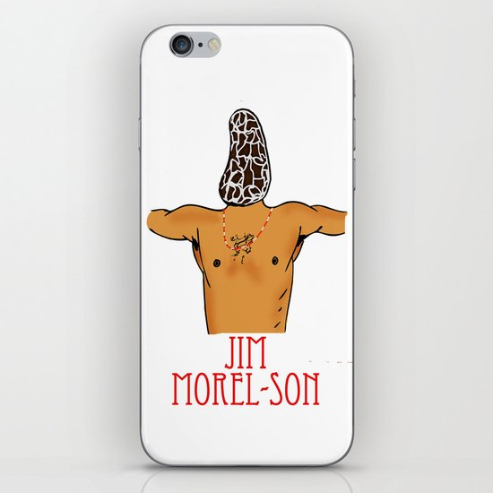 Jim Morel-son iPhone & iPod Skin