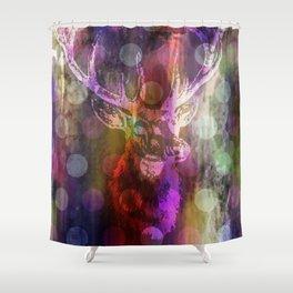DEER + KARLA II Shower Curtain