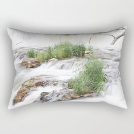 Waterfalls of Wisconsin, Willow River Rectangular Pillow