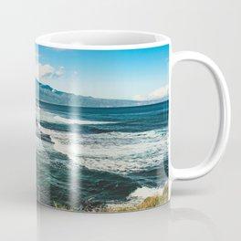 Wave Series Photograph No. 29 - The Emerald Sea - Hawaii Coffee Mug
