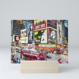 Times Square II Special Edition II Mini Art Print