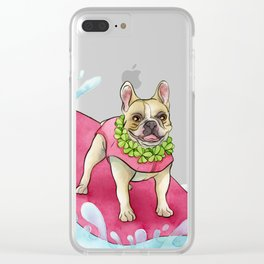 Cherie Clear iPhone Case