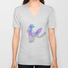 Watercolor Sylveon Unisex V-Neck