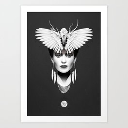 Your Darkest Everything Art Print