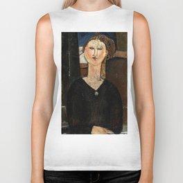 "Amedeo Modigliani ""Antonia"" Biker Tank"