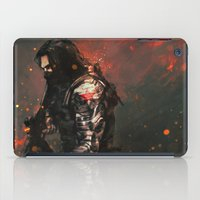 alicexz iPad Cases featuring Blood in the Breeze by Alice X. Zhang