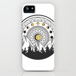 Moon Forest iPhone Case