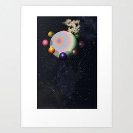 A starseed trip home.... Art Print