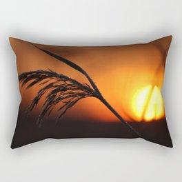 Good Morning Sun Winter Scene #decor #society6 Rectangular Pillow