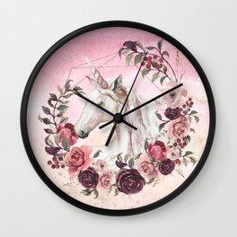 Irresistible Force Wall Clock