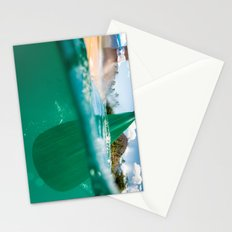 Stand Up Paddling Stationery Cards