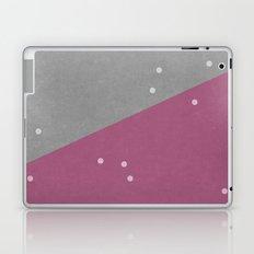 Concrete & Dots Laptop & iPad Skin