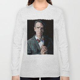 """The Science Guy"" Digital, 2018. Original Digital Watercolor Painting, Bill Nye Long Sleeve T-shirt"