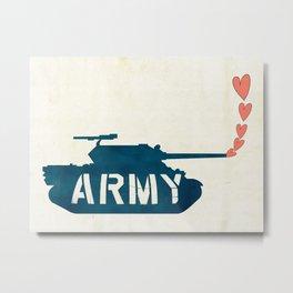 The Love Army Metal Print