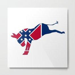 Mississippi Republican Donkey Flag Metal Print